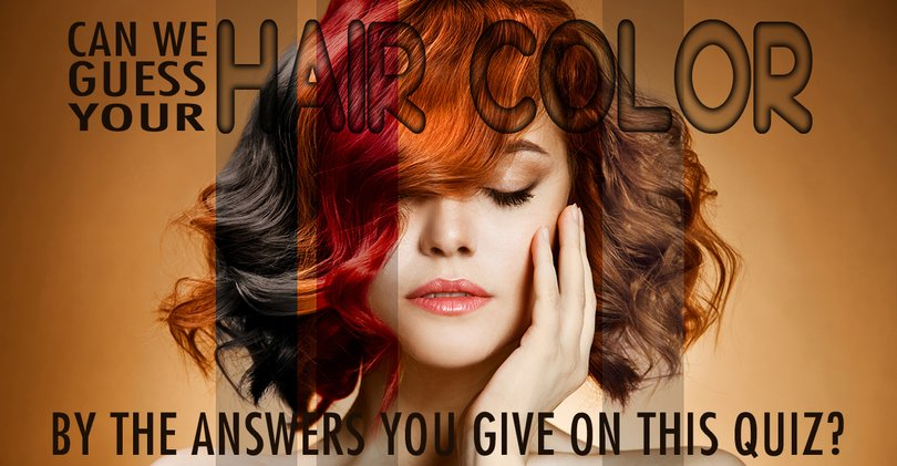 Enjoyable Can We Guess Your Hair Color Correctly Magiquiz Natural Hairstyles Runnerswayorg