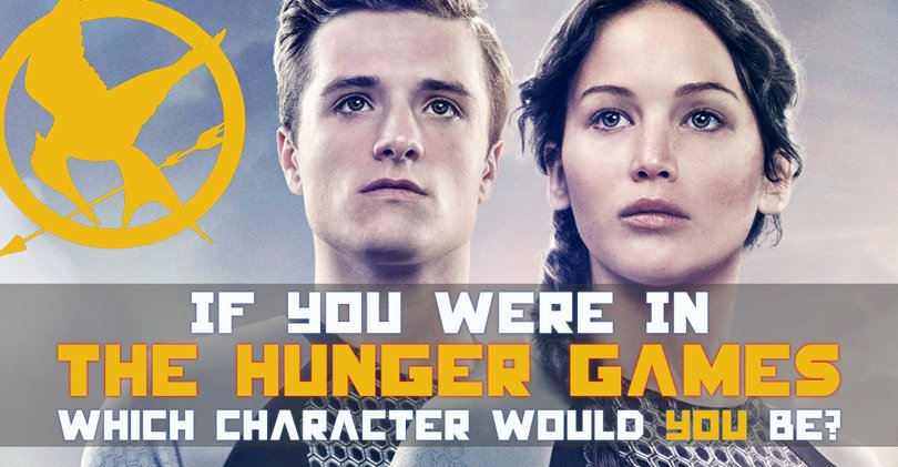 If You Were In The Hunger Games Which Character Would You Be