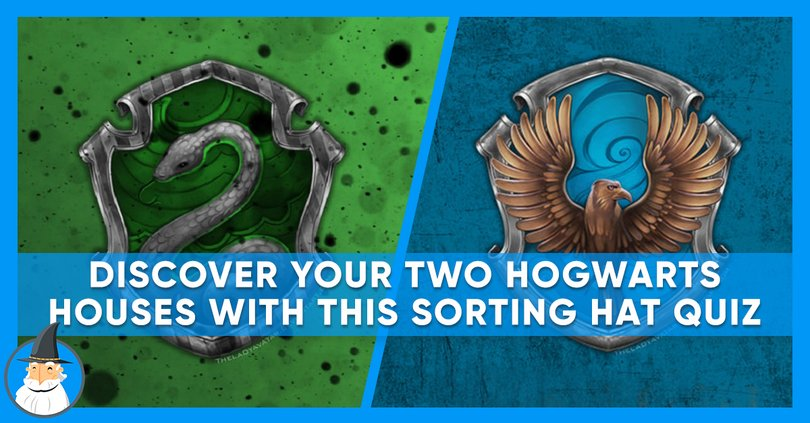 Hogwarts House Quiz Which Two Combinations Are You Magiquiz