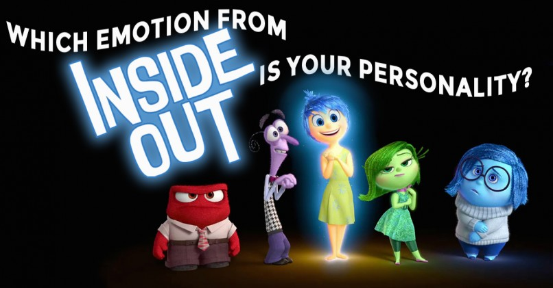 which emotion from inside out is your personality magiquiz