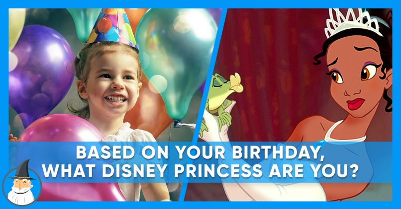 This Disney Princess Quiz Is Based On Your Birthday? | MagiQuiz