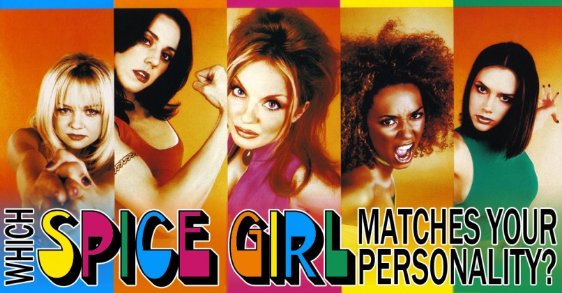 Which Spice Girl Matches Your Personality?   MagiQuiz