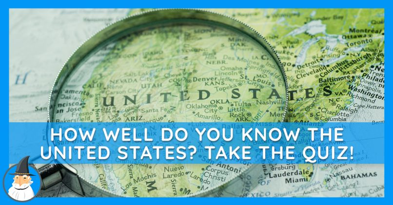 Test Your Us History And Geography Memory Magiquiz - Us-history-map-test