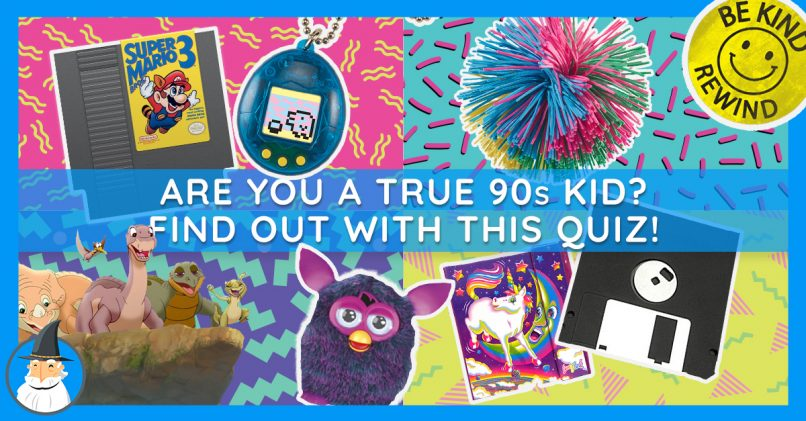 The Best 90s Kid Trivia Test  Are You a True 90s Kid? | MagiQuiz