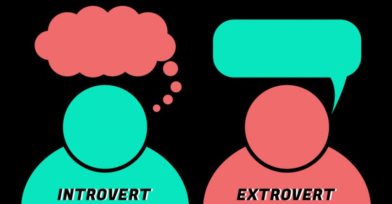 introverted people and extroverted people First, it's very rare that people are 100% extroverted or introverted according to  psychotherapist marti olsen laney, introverts and extroverts are.