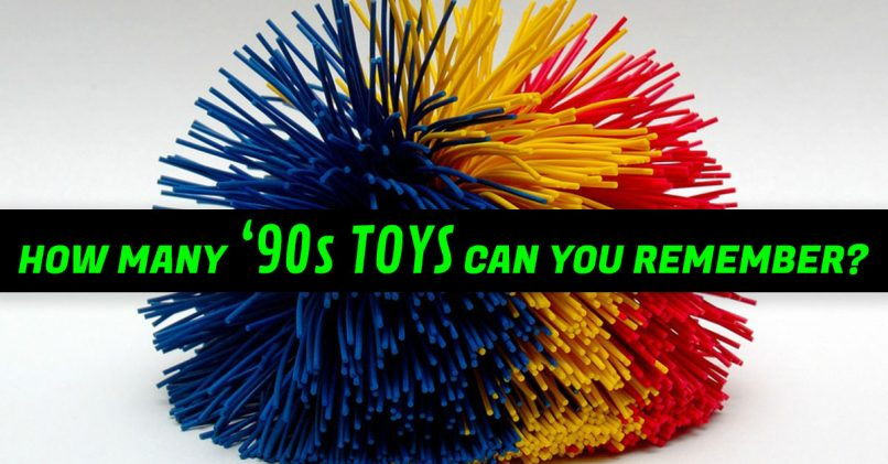 Only A True 90s Kid Can Remember All 12 Of These Childhood Toys