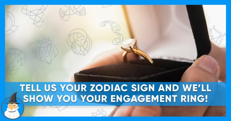 Perfect engagement ring you your zodiac sign