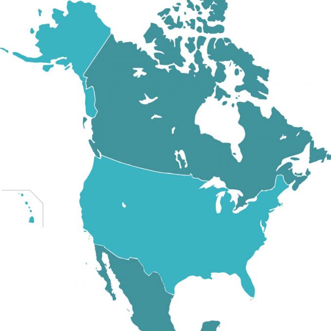 Mexico Usa Canada Map V50 Download Google