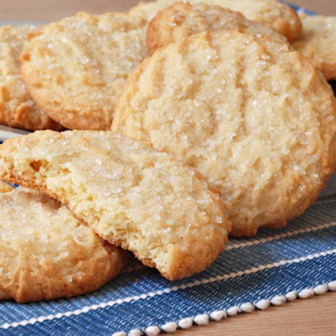 Рецепт классического песочного печенья пошагово