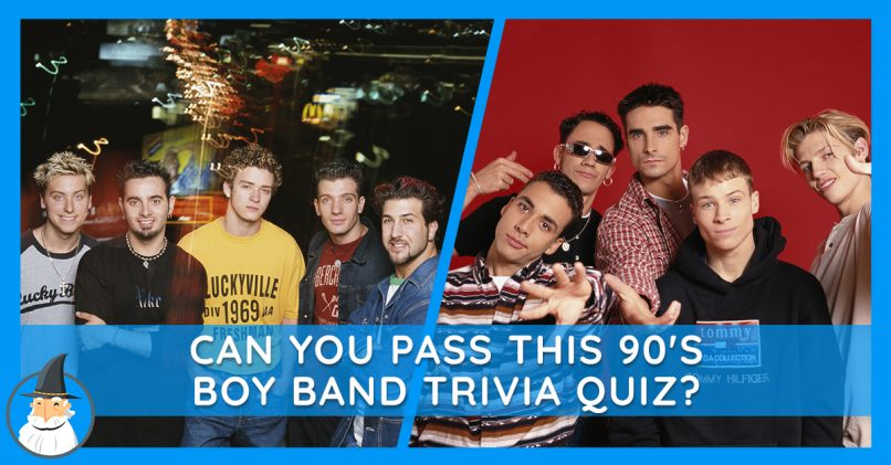 Take the Ultimate 90s Boy Band Trivia Test | MagiQuiz