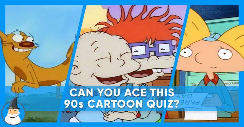 90s cartoon quiz